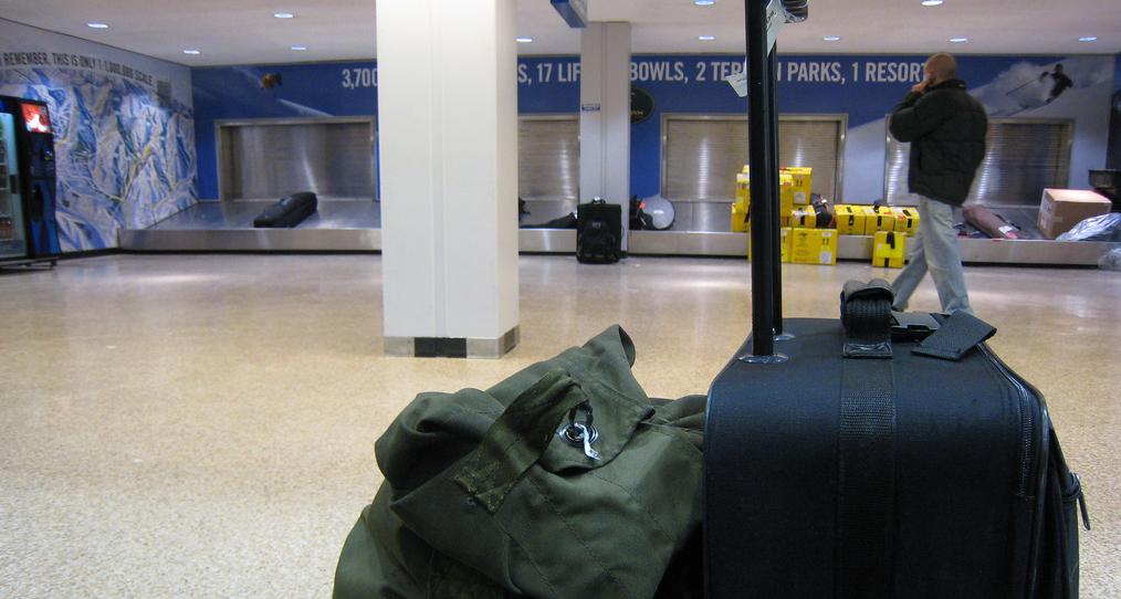Багаж в аэропорту