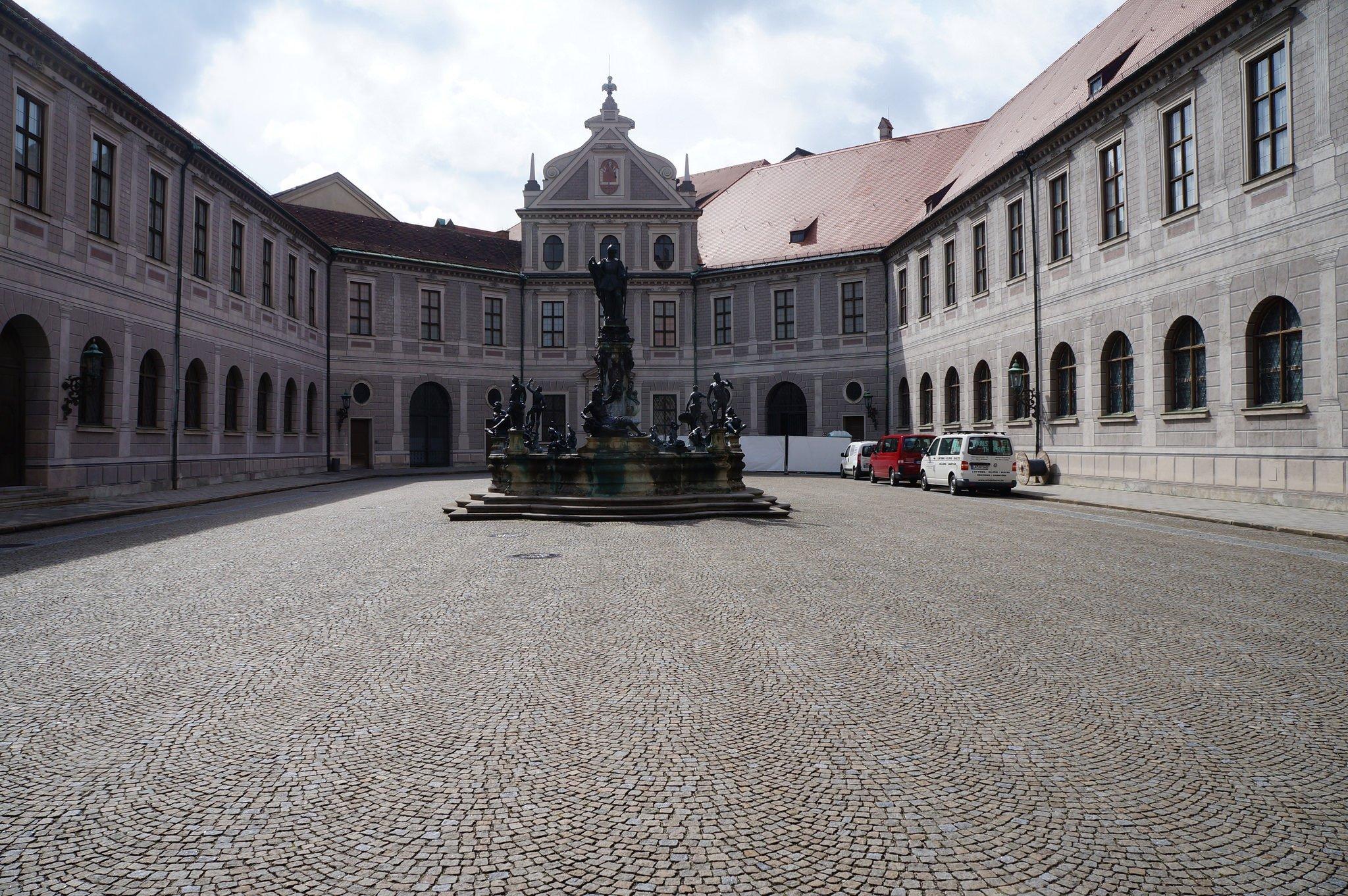 Дворец Мюнхенская резиденция