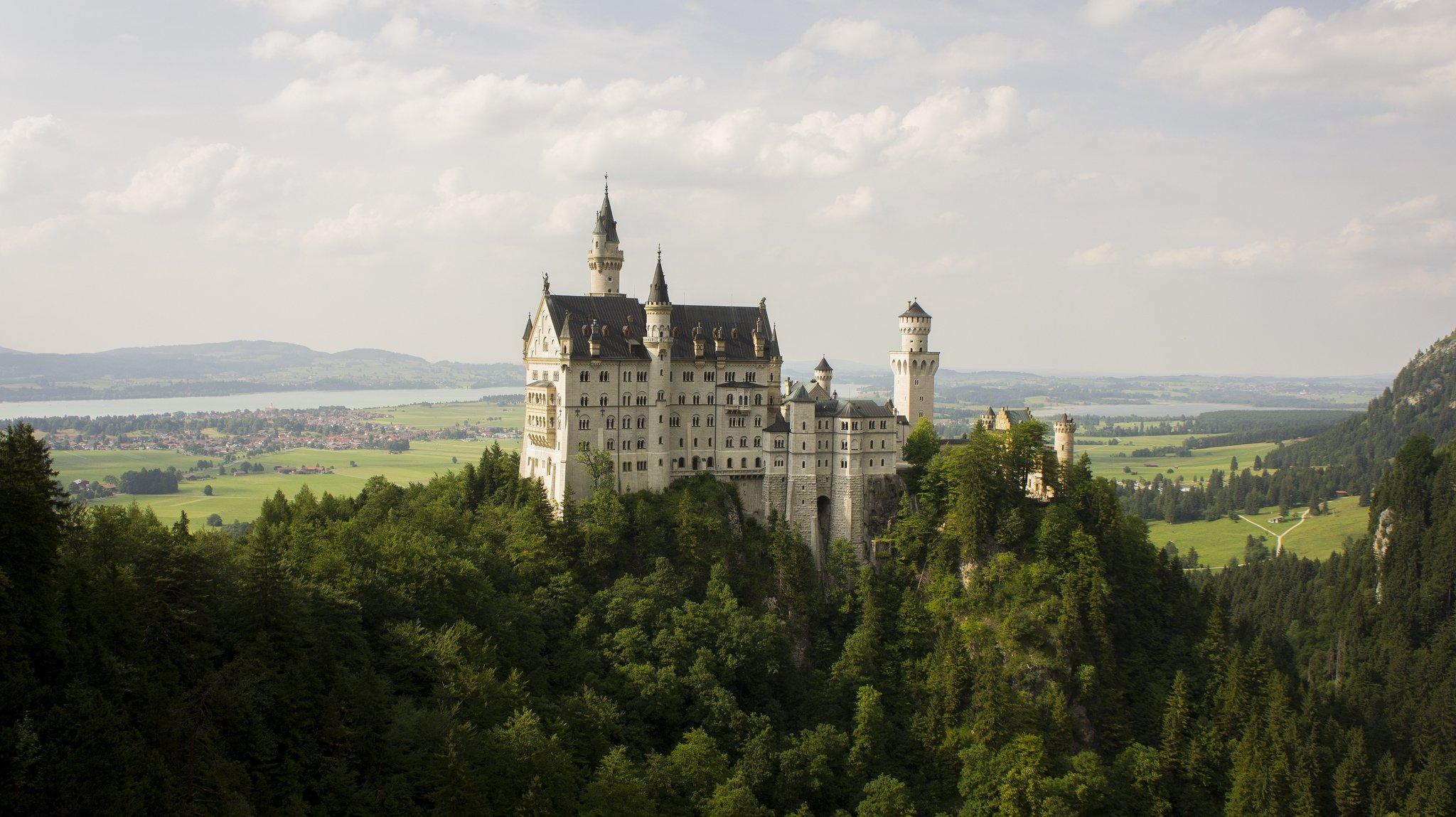 Замок Нойшванштайн - фото
