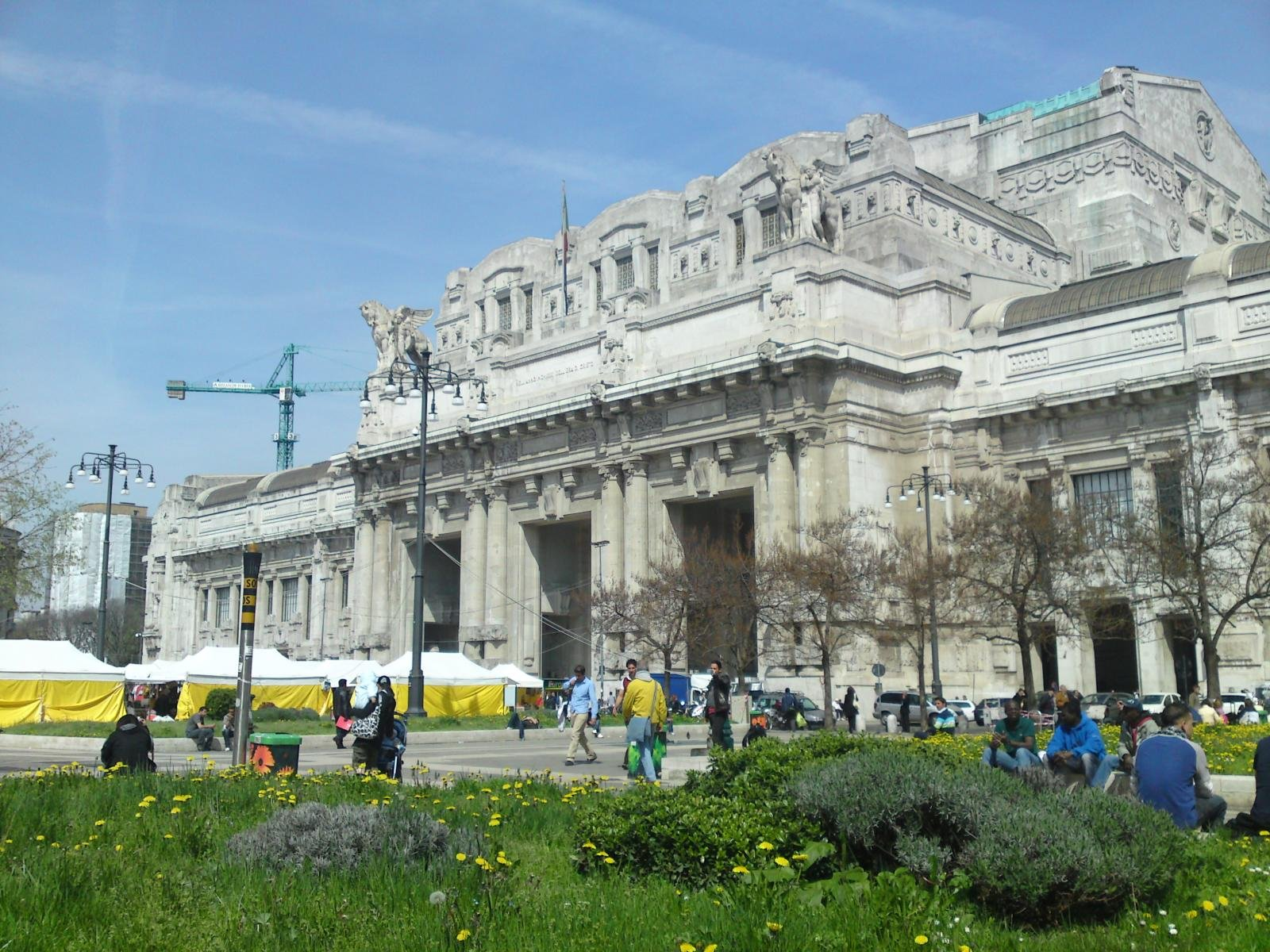 Миланский ЖД вокзал