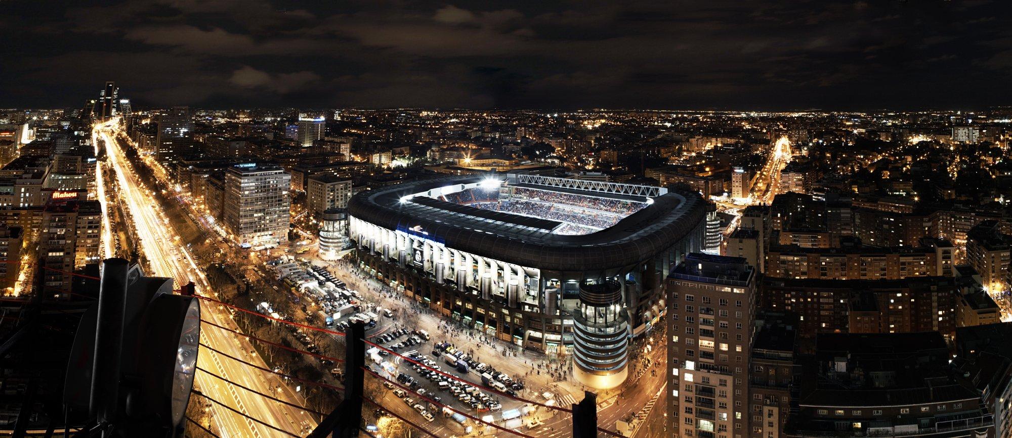 Домашний стадион мадридского Реала