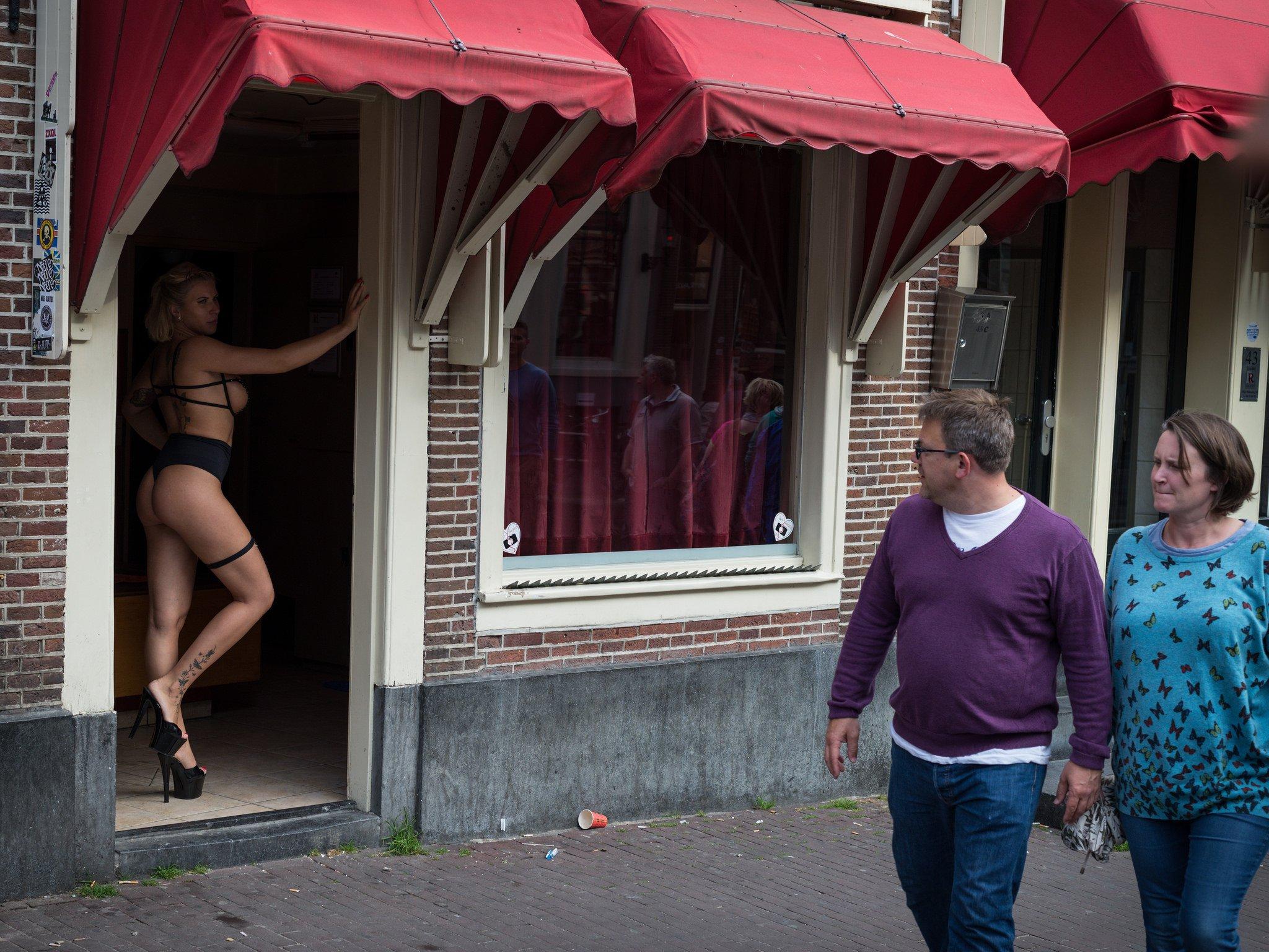 Район Красных Фонарей в столице Нидерландов