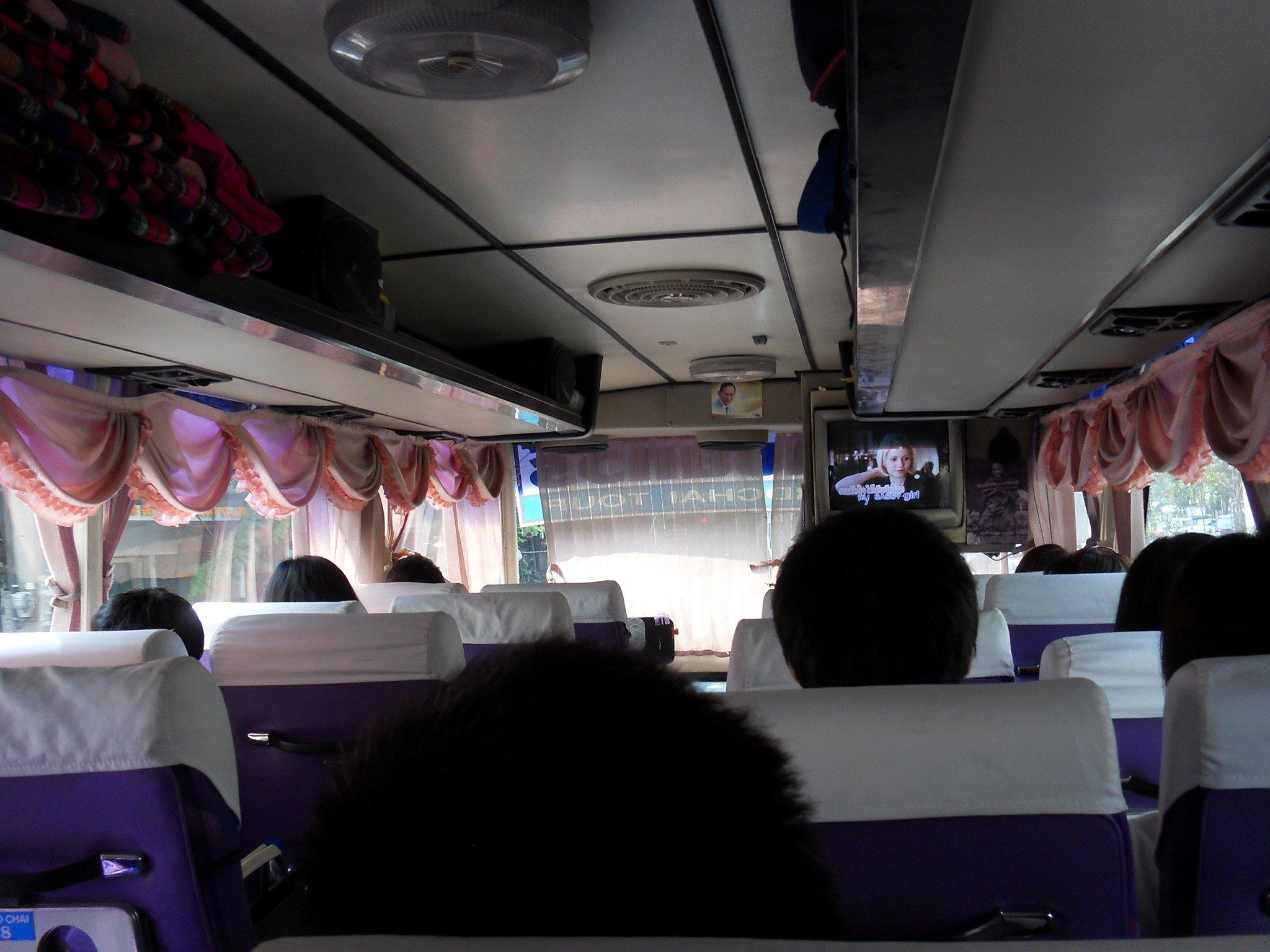 Автобус из Бангкока