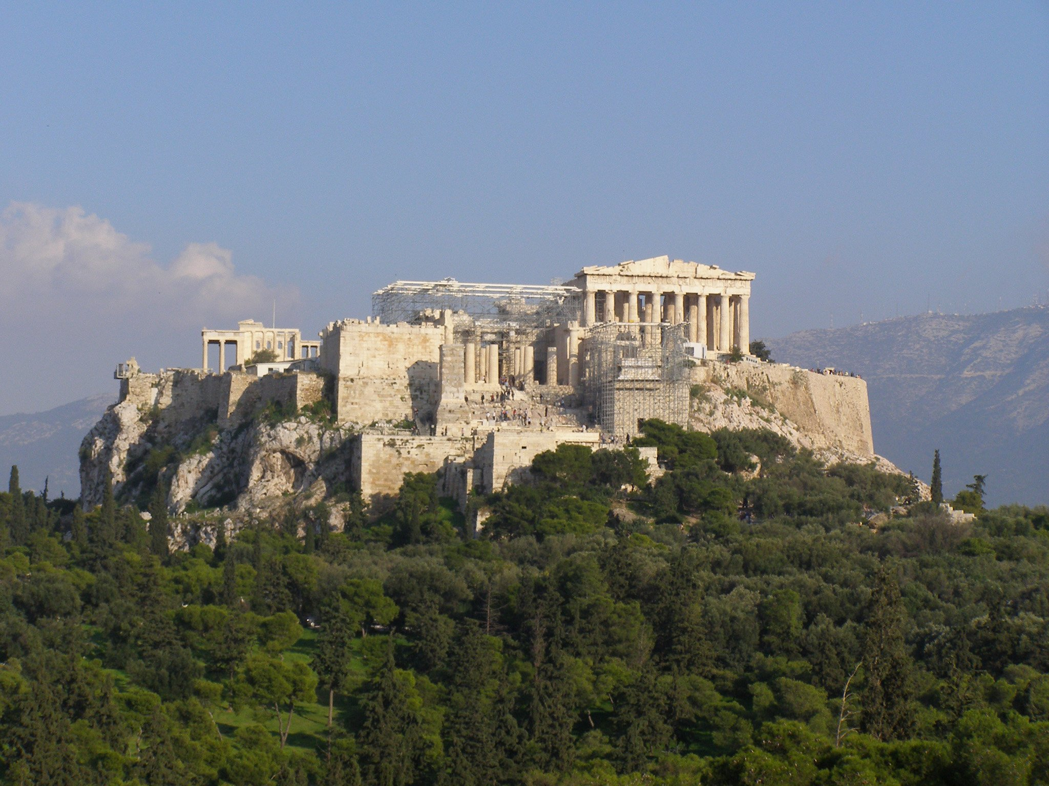 Общий план Акрополя