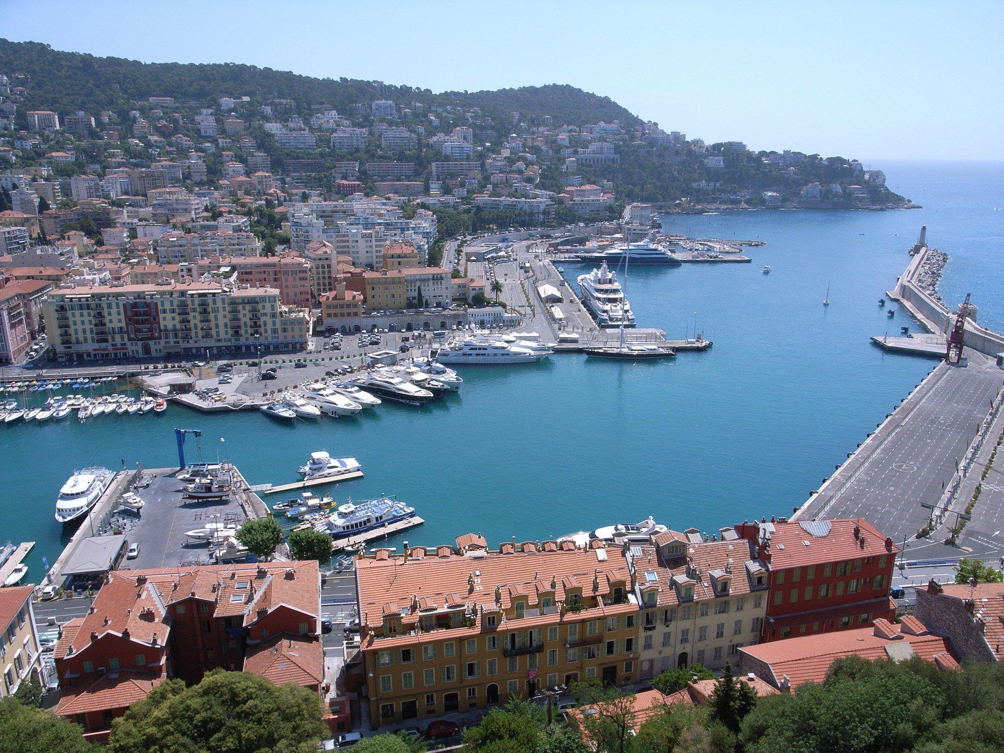 Порт в Ницце