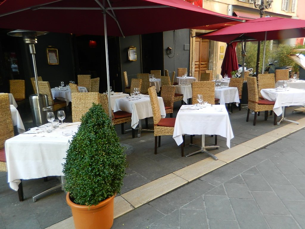 Ресторан в Ницце