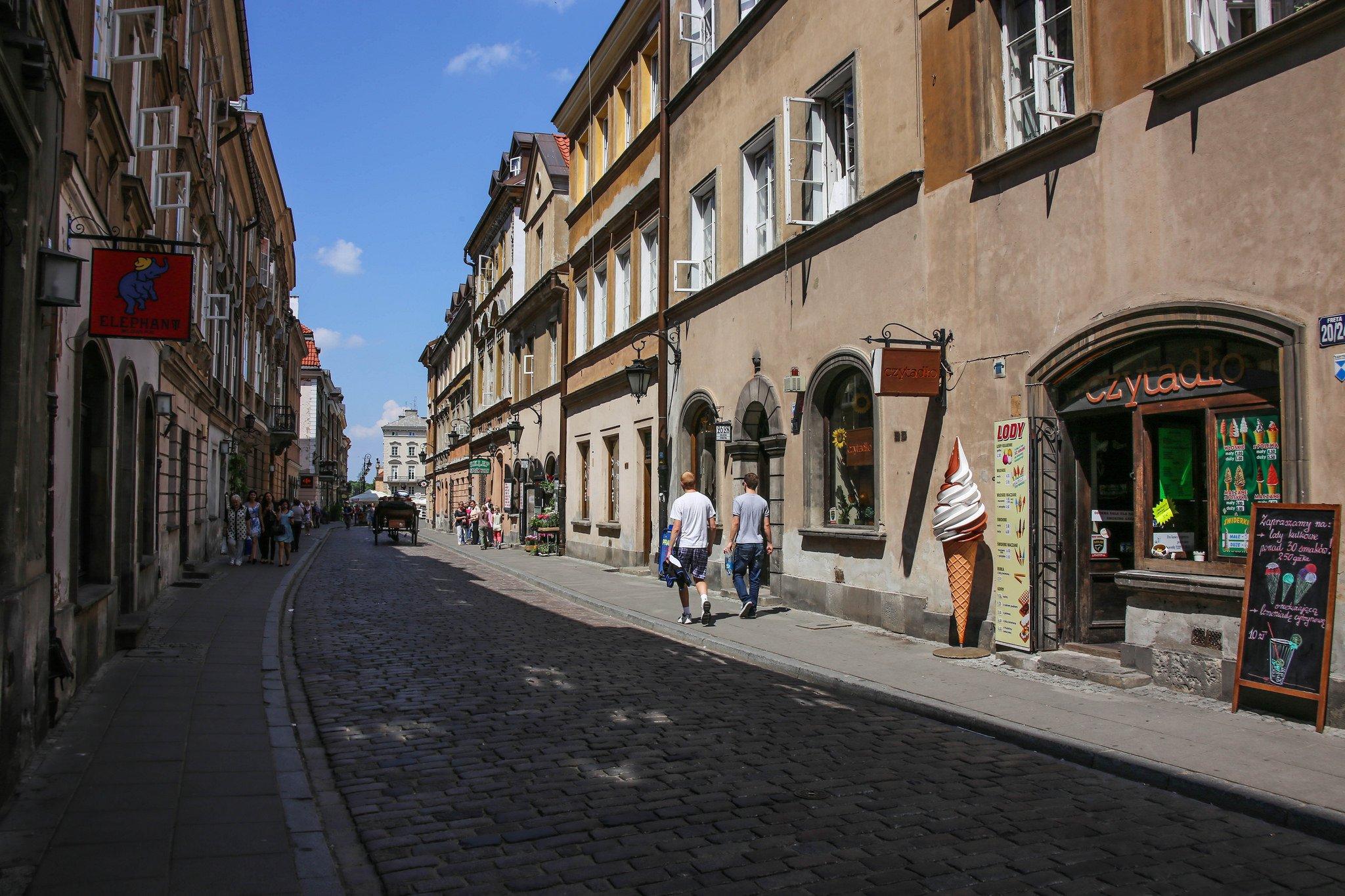 Улица Варшавы