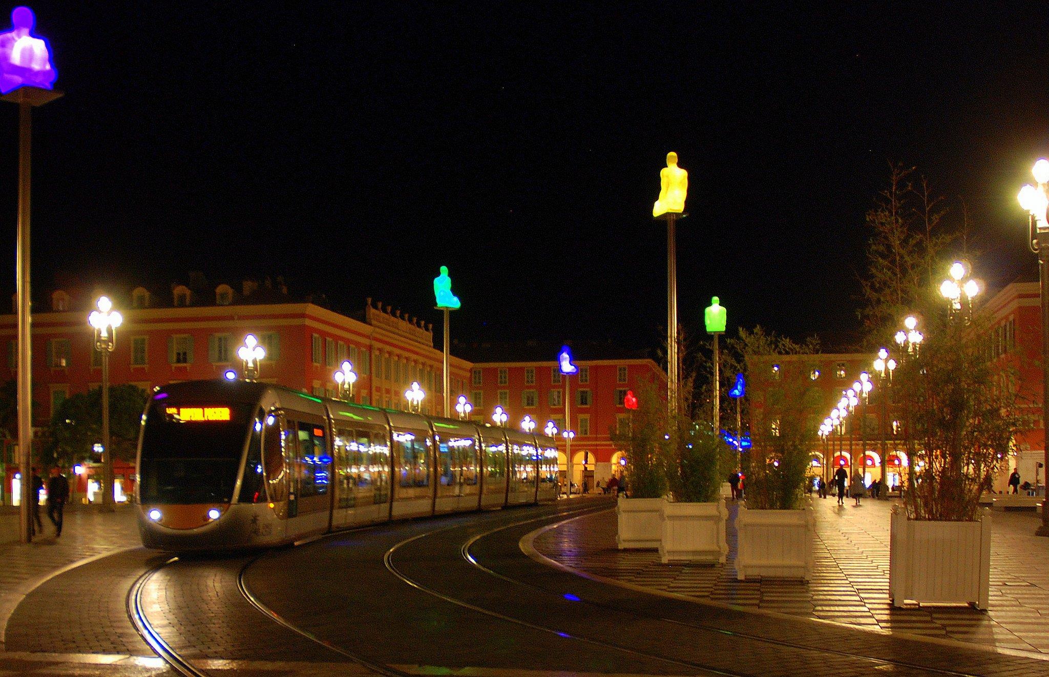 Вечер в Ницце