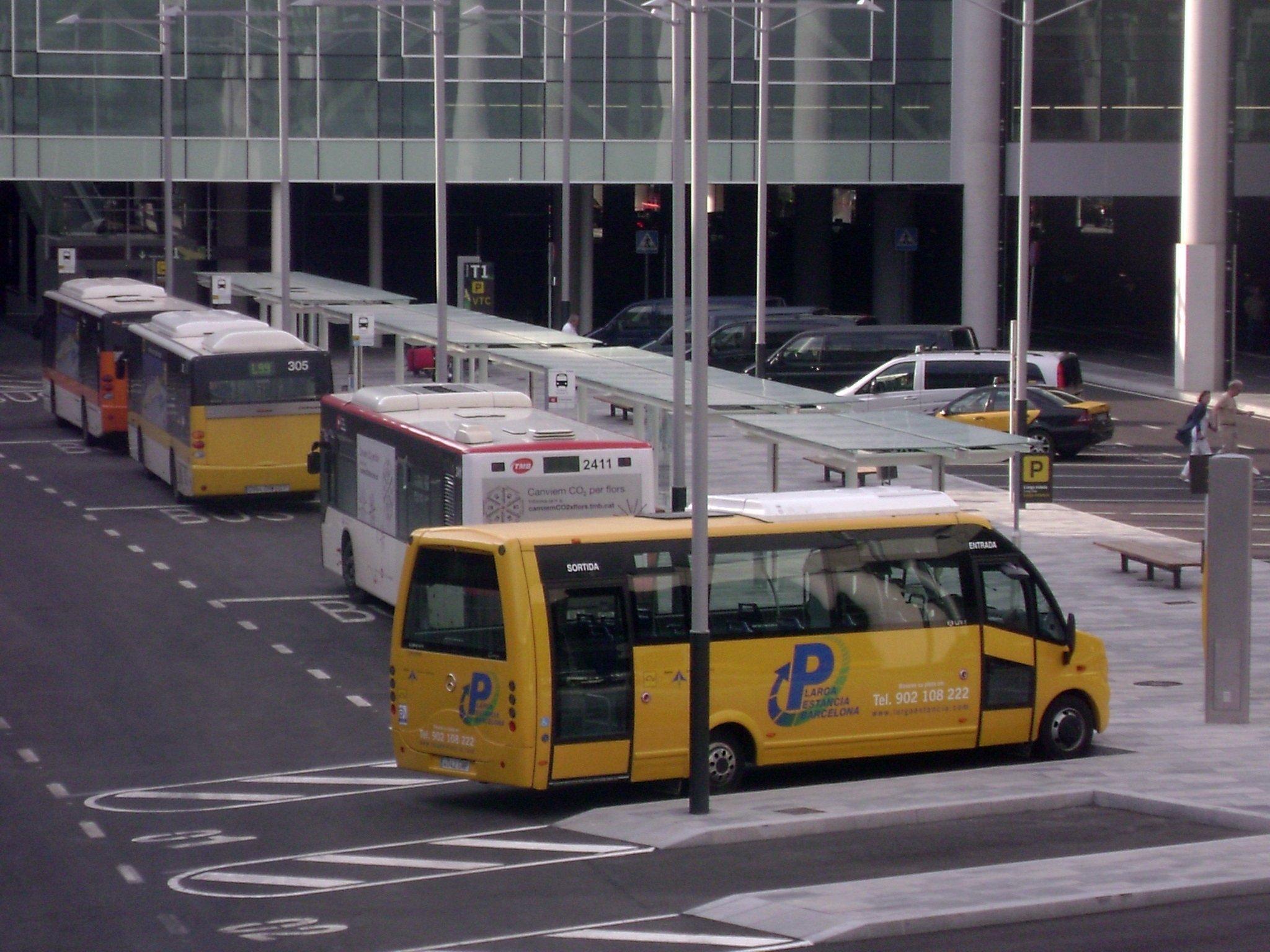 Выход к автобусам