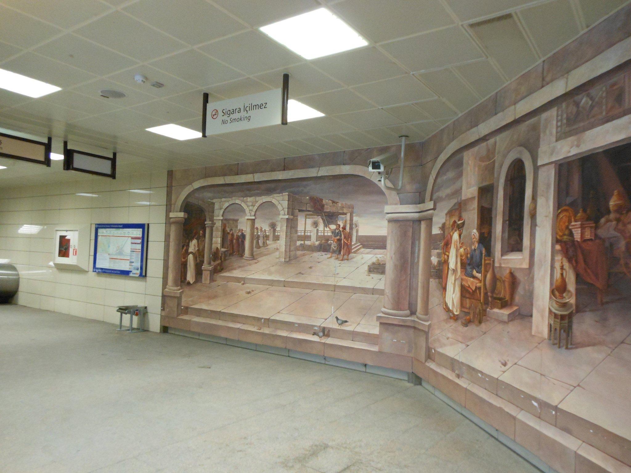 Зал метро