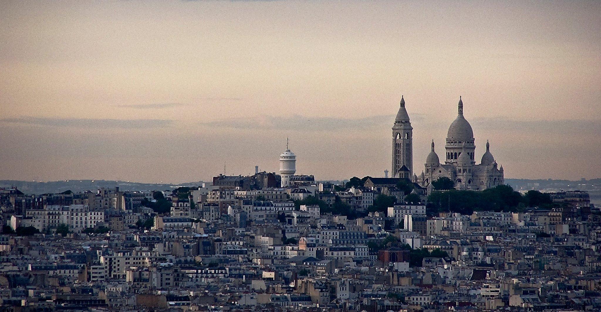 Панорама Монмартра