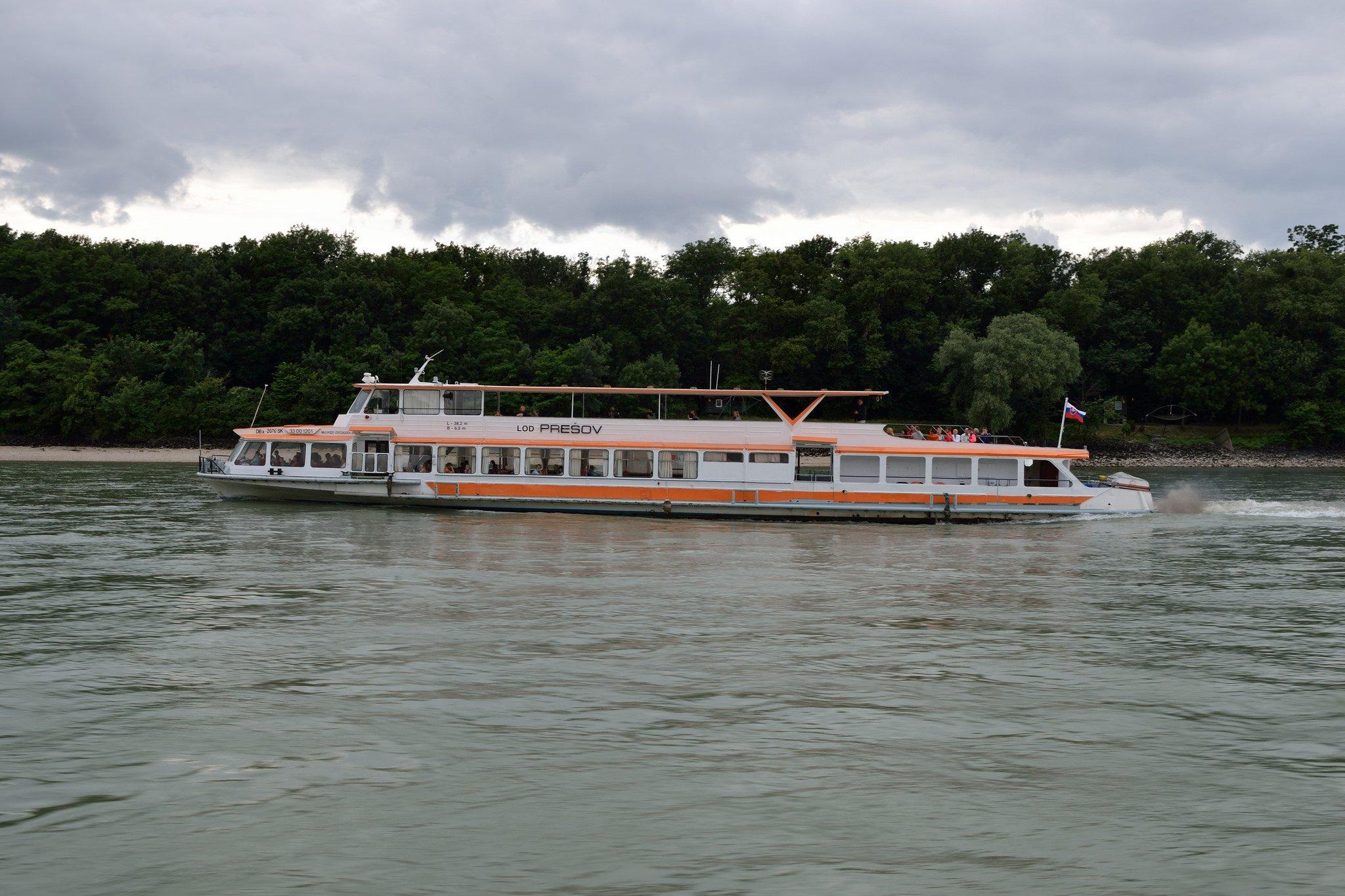 Судно на Дунае