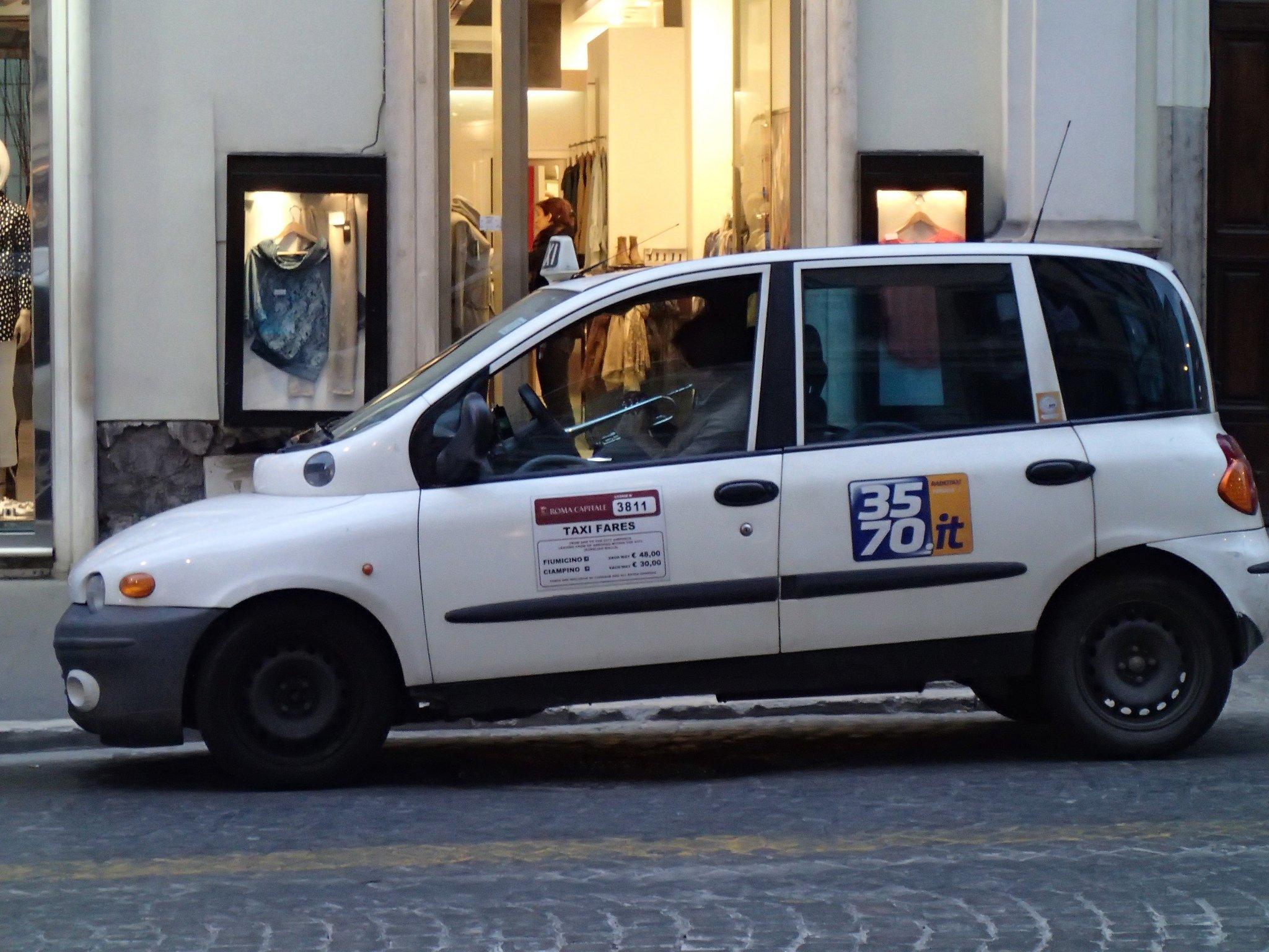 Такси из Бергамо