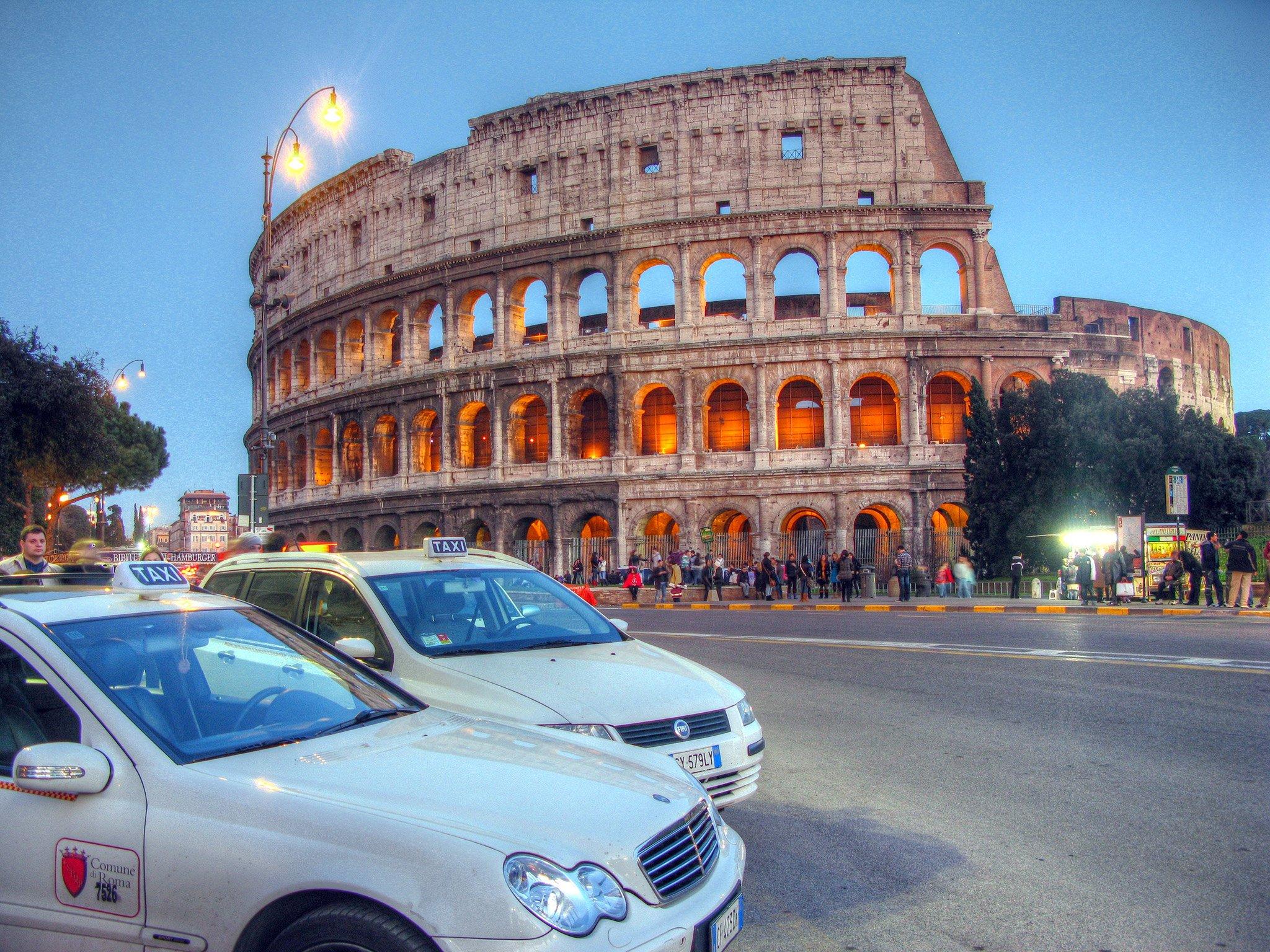 Такси в Рим