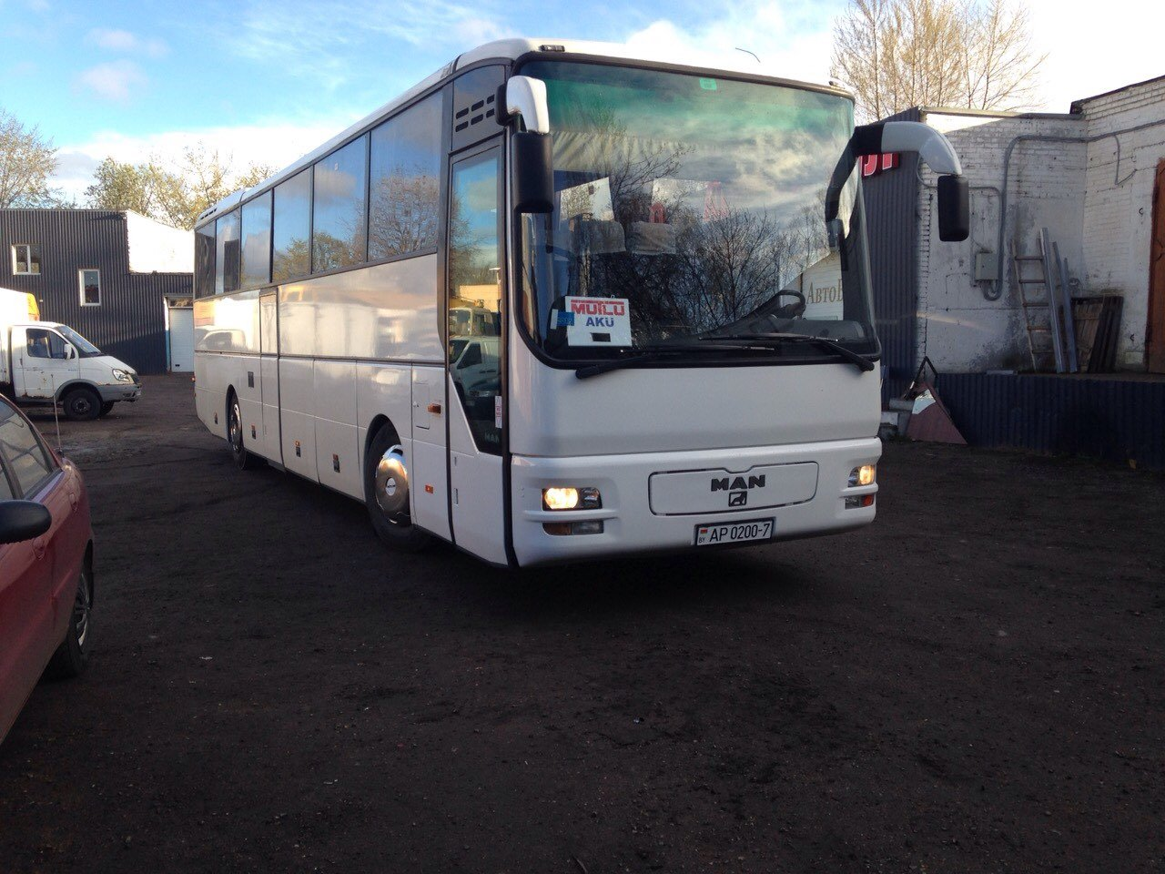 Автобус из Минска