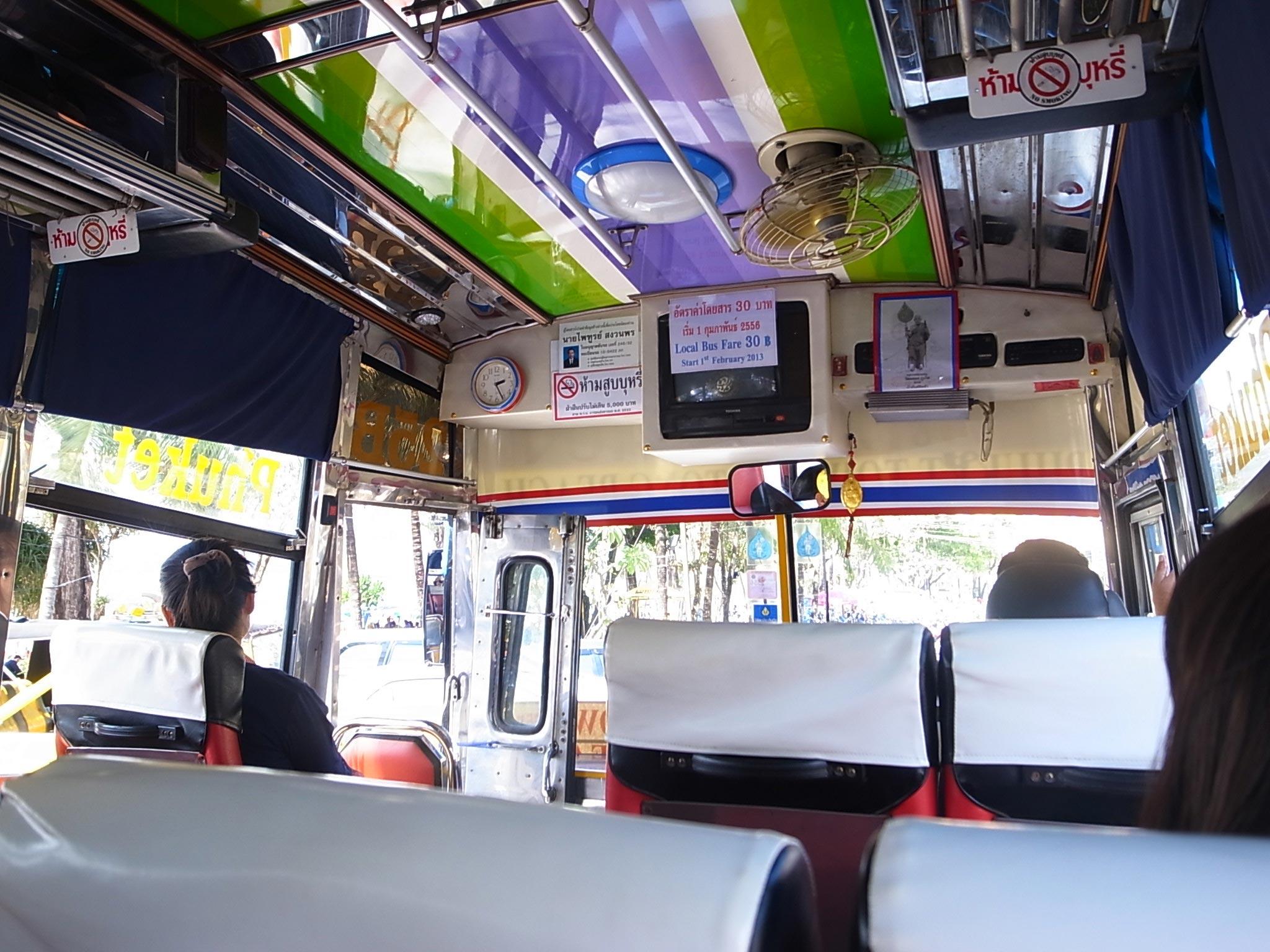 Автобус из Пхукета