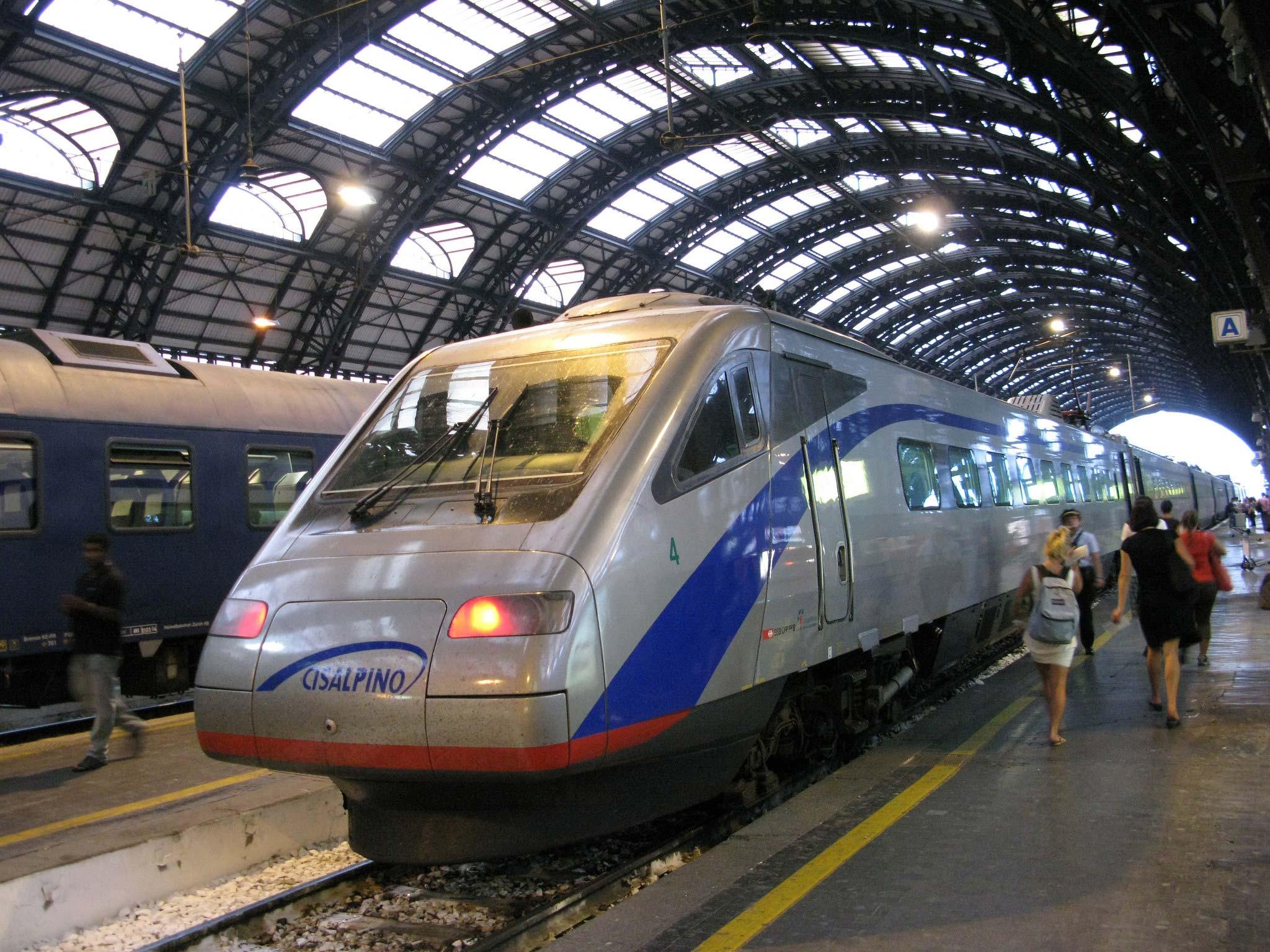 Поезд из Милана