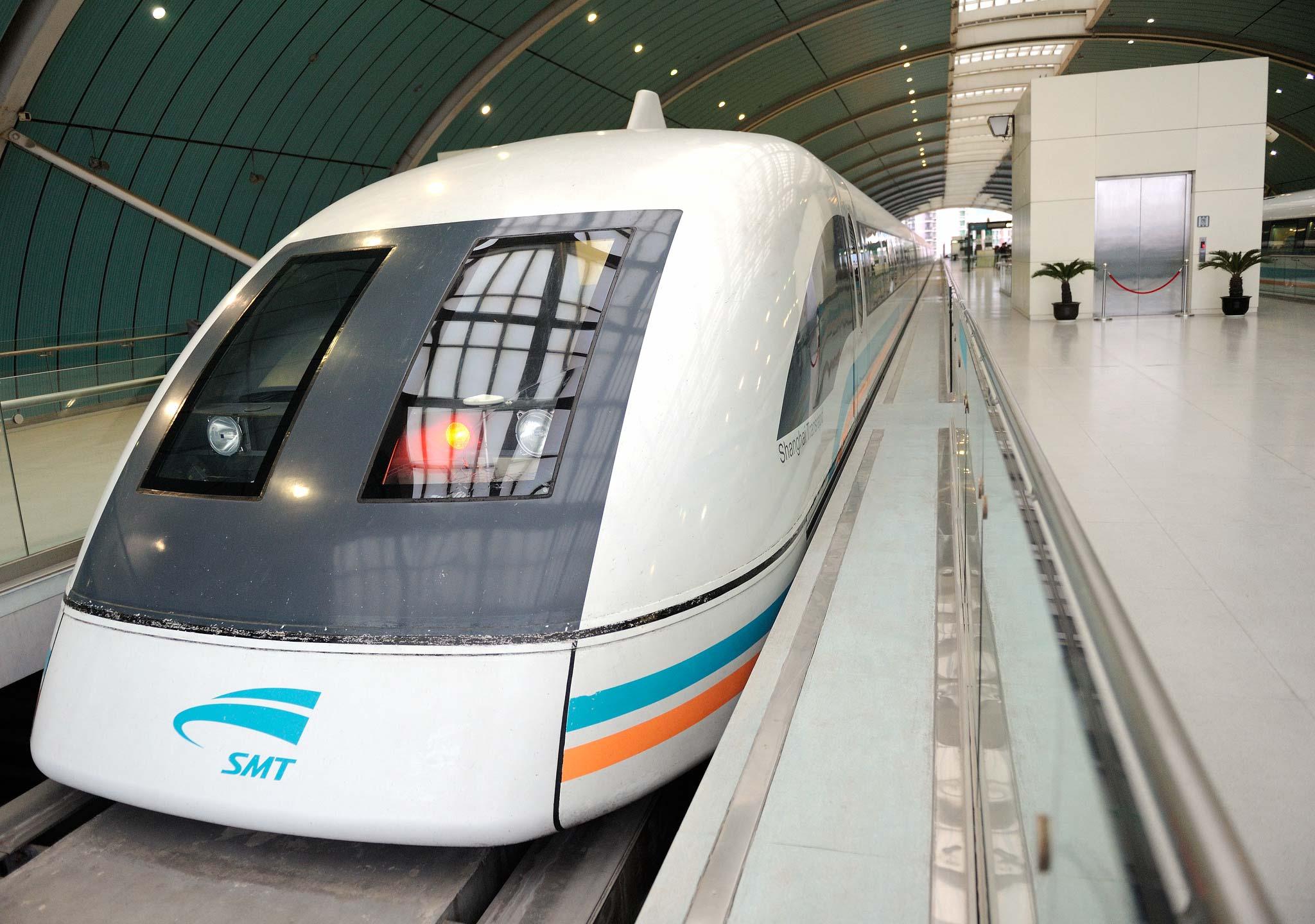 Поезд шанхайского метро