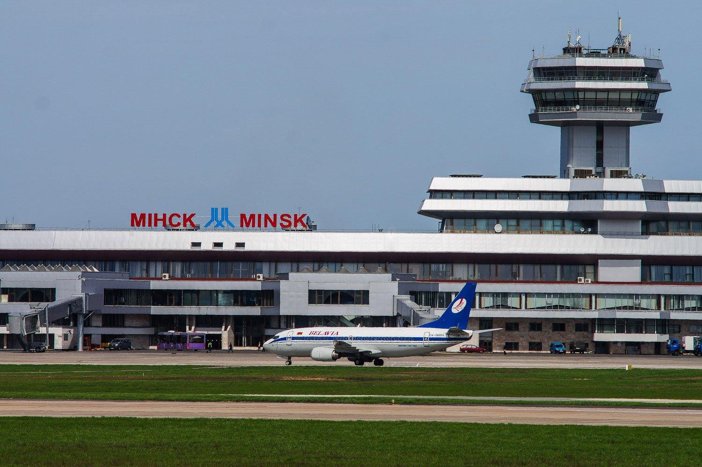 Самолет из Минска
