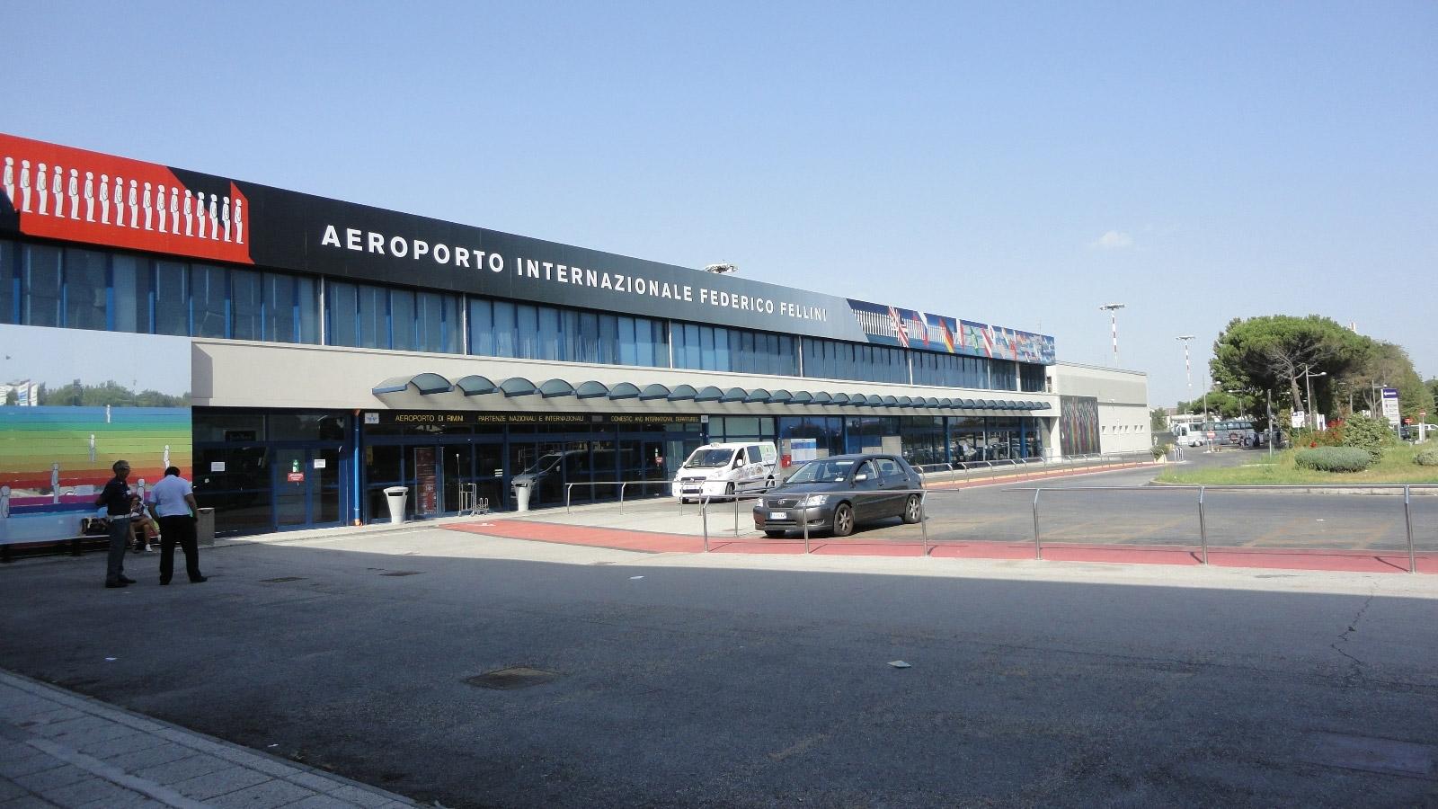 Аэропорт в Римини
