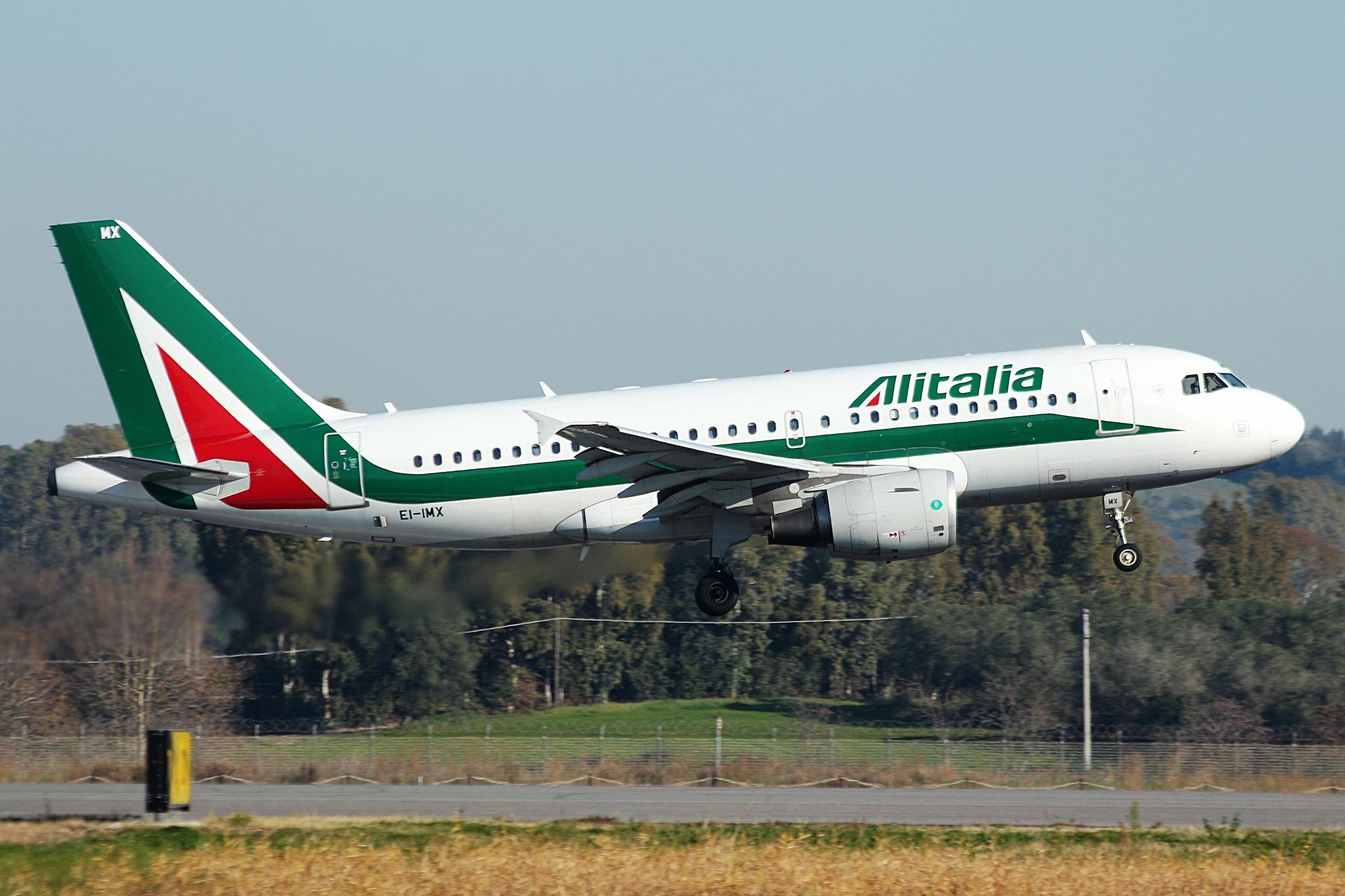 Самолет Алиталия
