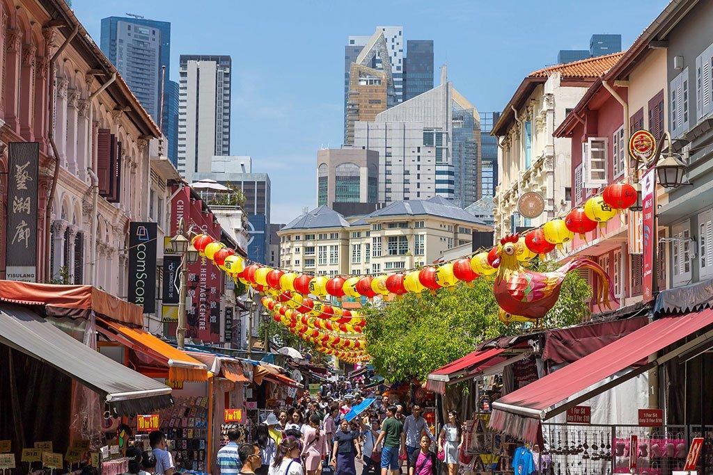 Улицы Сингапура