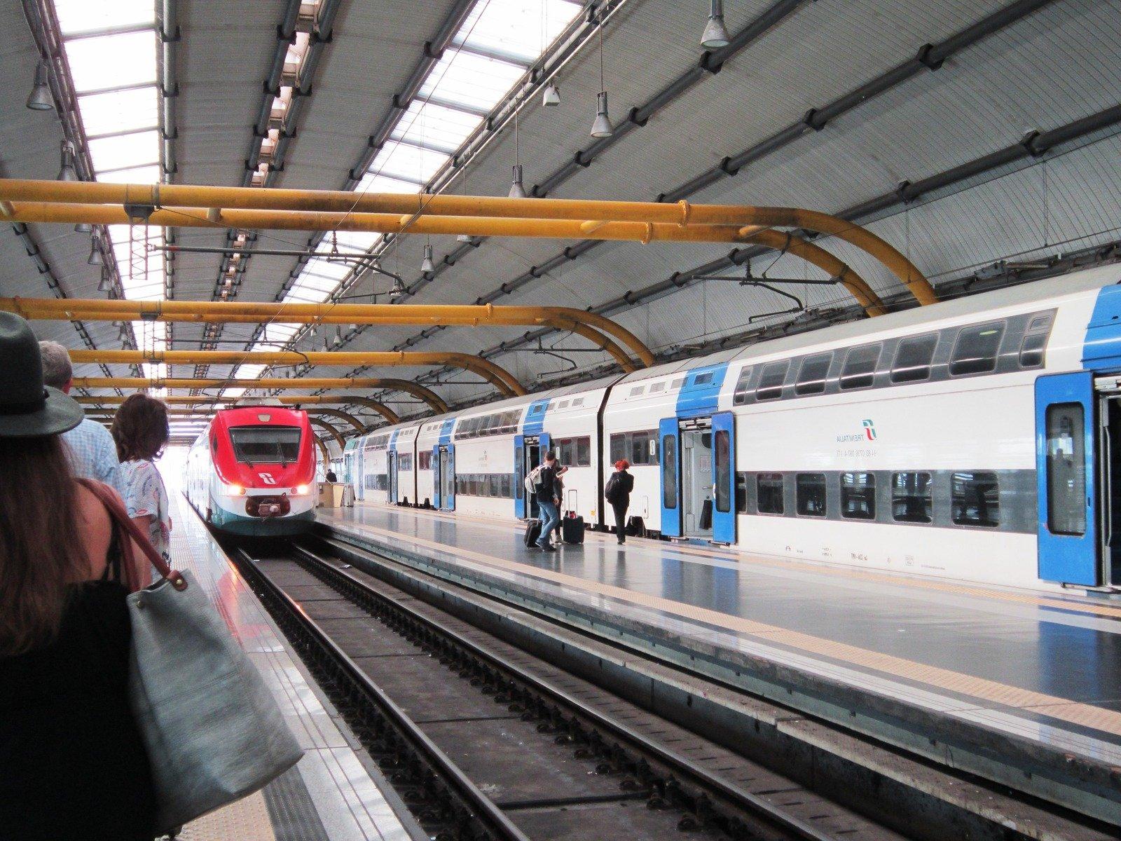 Вокзал в Римини