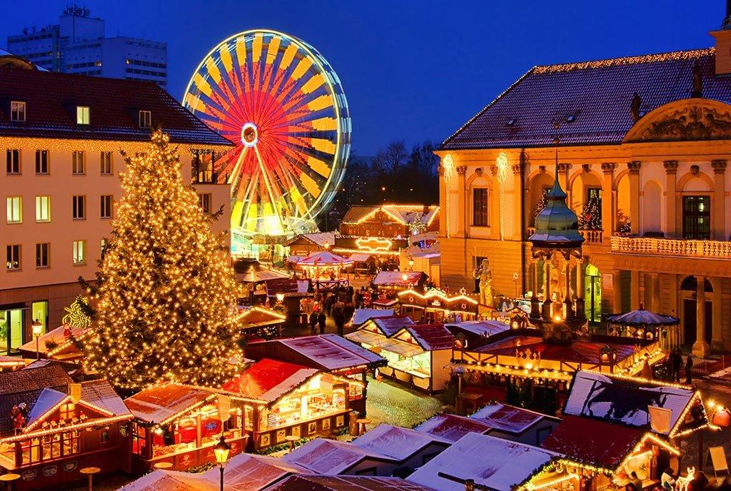 Зимние каникулы в Европе