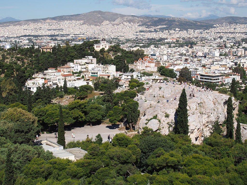Афинские холмы