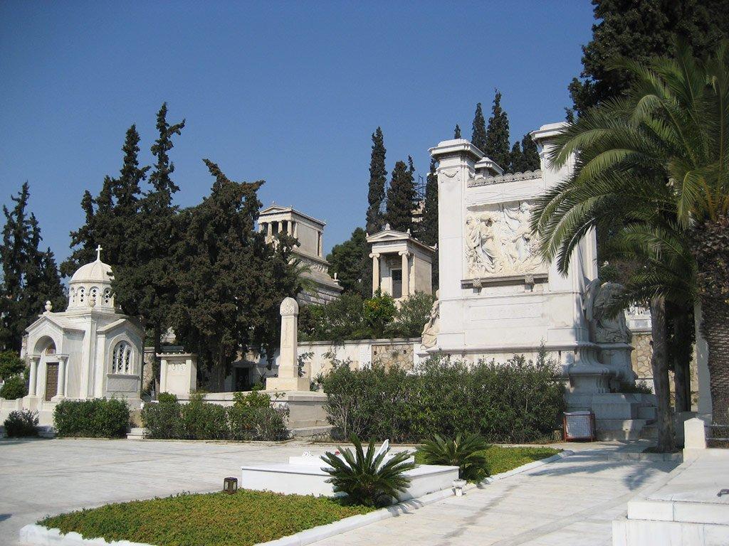 Афинское кладбище