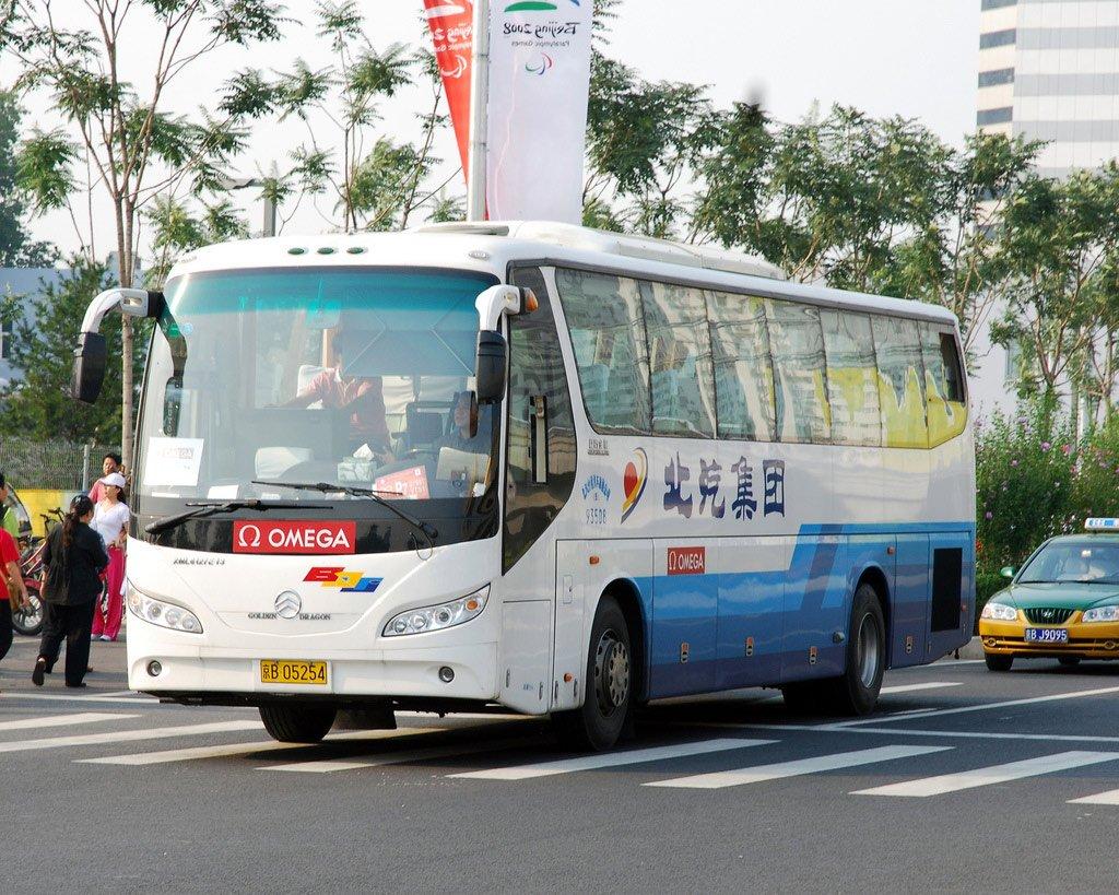 Автобус в Гуанчжоу