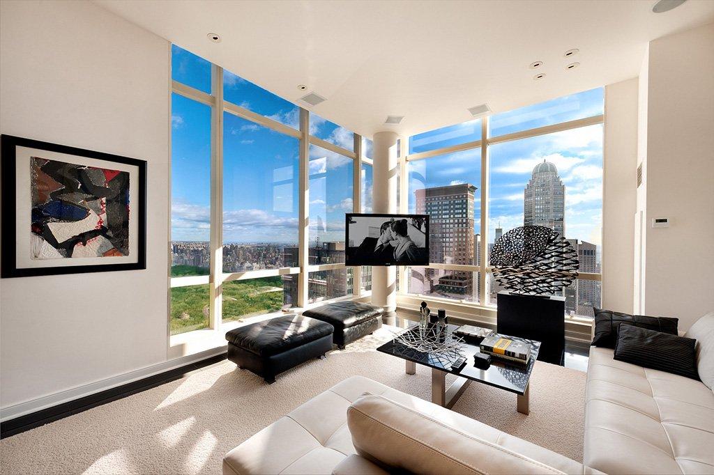 Квартира с панорамой города