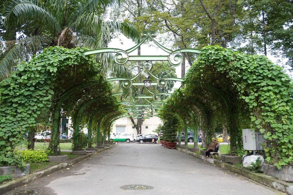 Парк в Хошимине