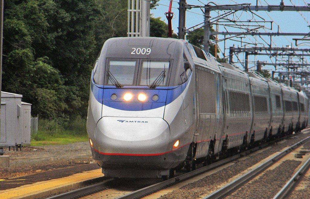 Поезд в Бостон