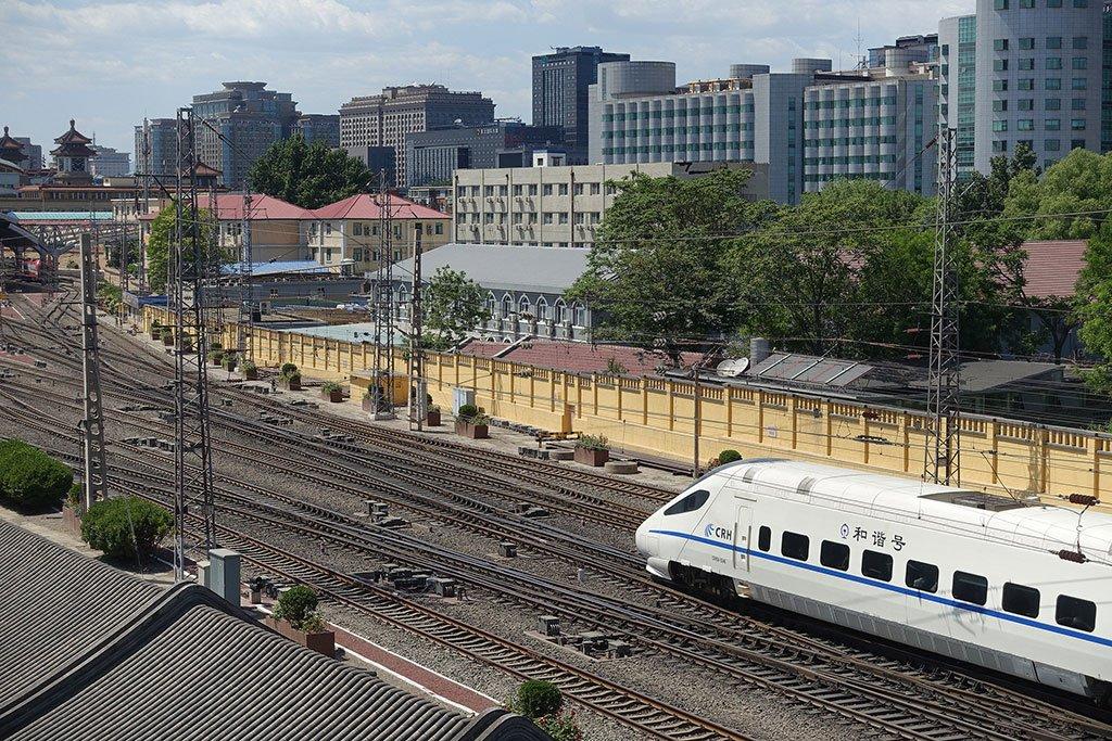 Поезд в Гуанчжоу