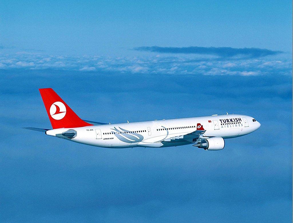 Самолет в Стамбул