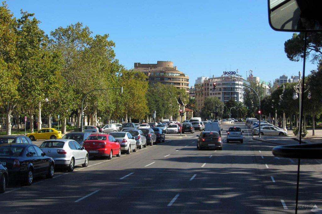 Улица Валенсии