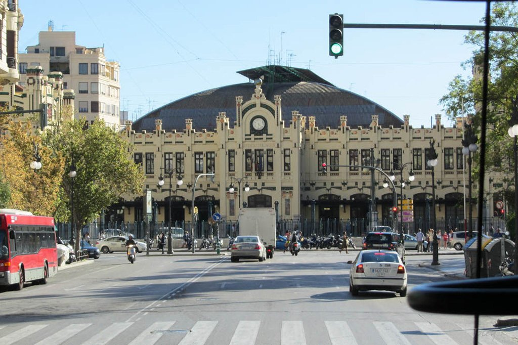 Вокзал в Валенсии