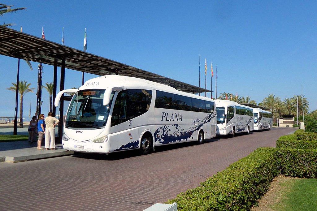 Автобусом из Барселоны