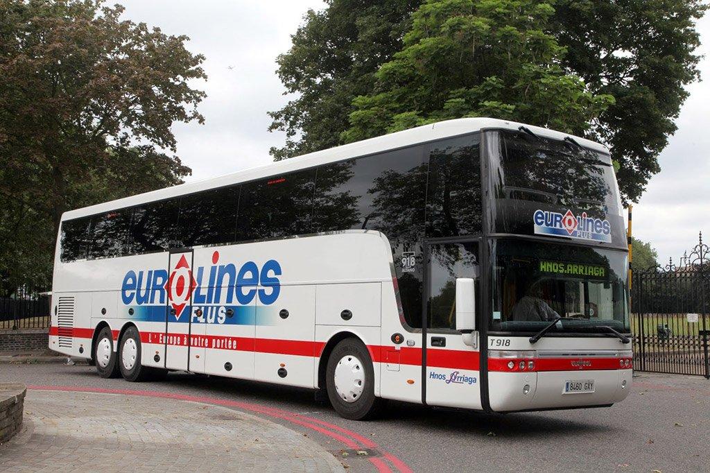 Автобусом из Парижа