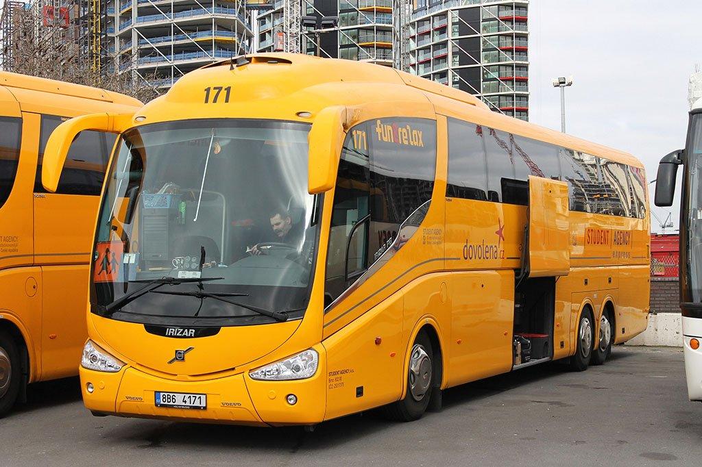 Автобусом из Праги