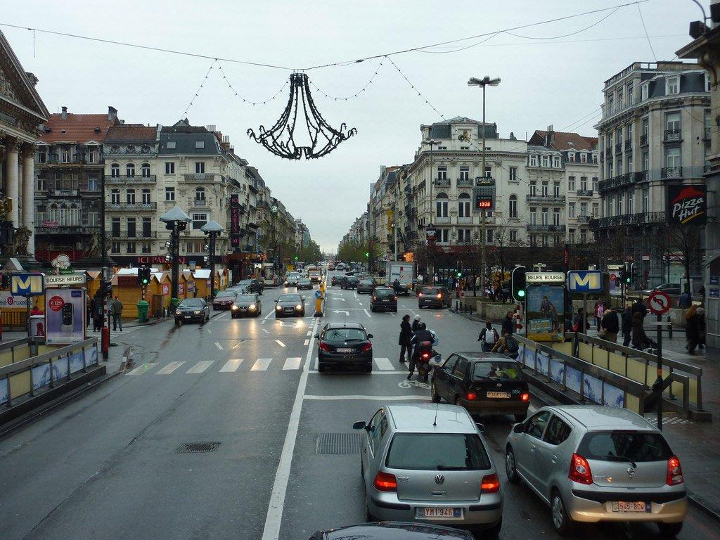 Машиной в Брюссель