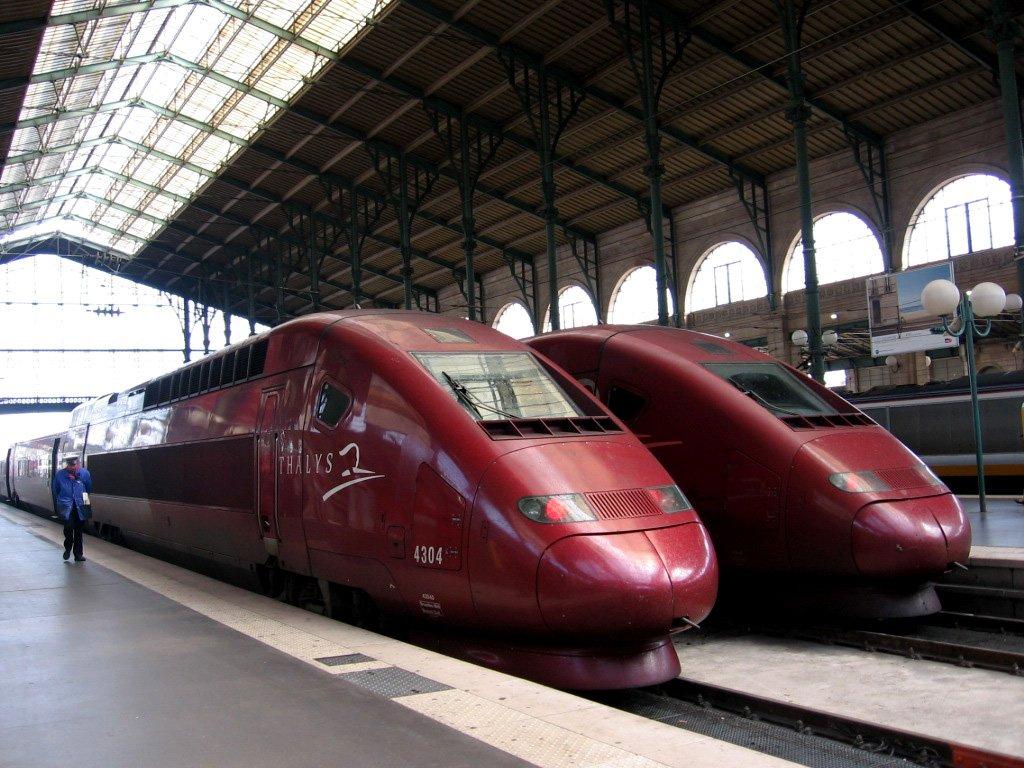 Поезд в Брюссель