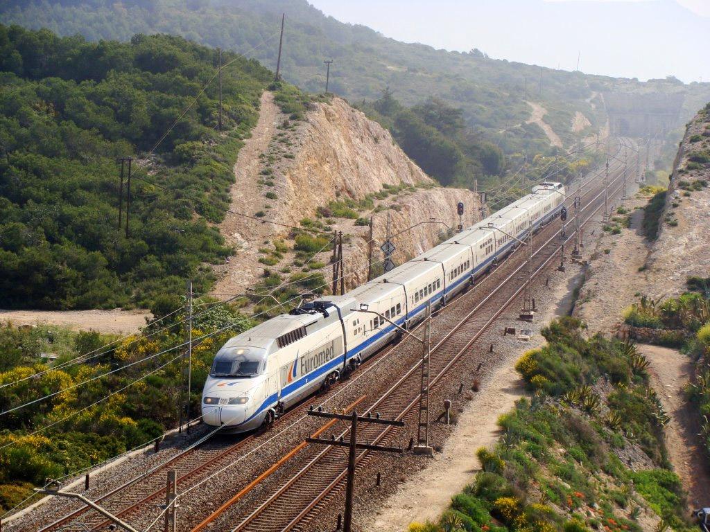 Поездом в Барселону