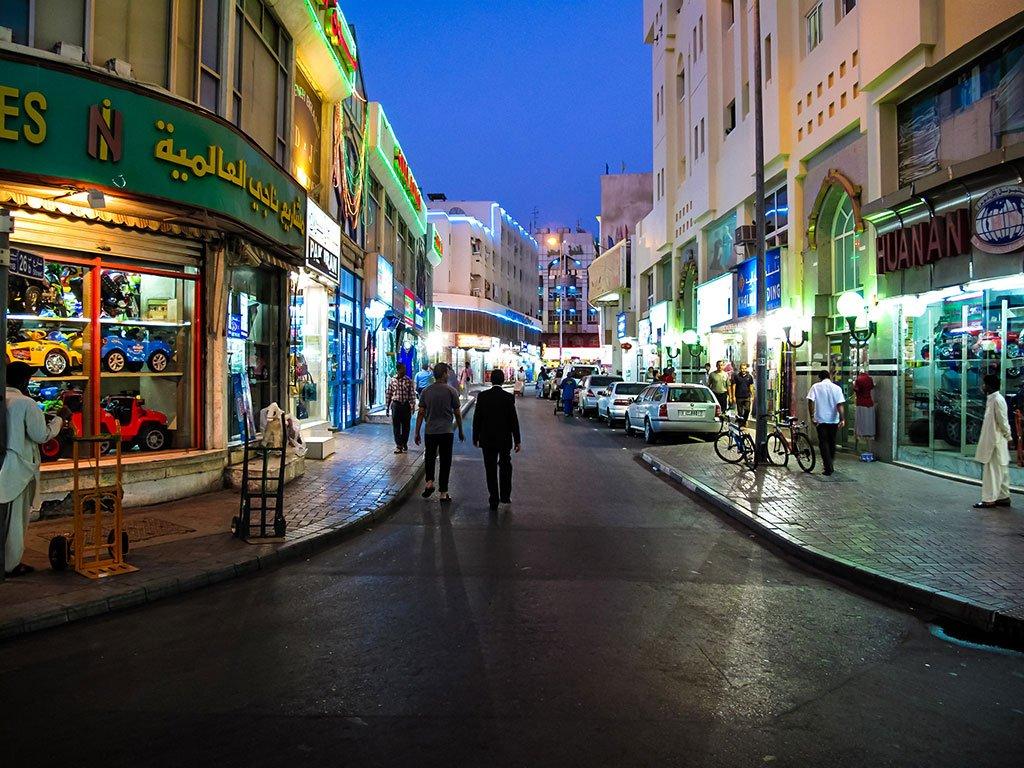 Улица в Дубае