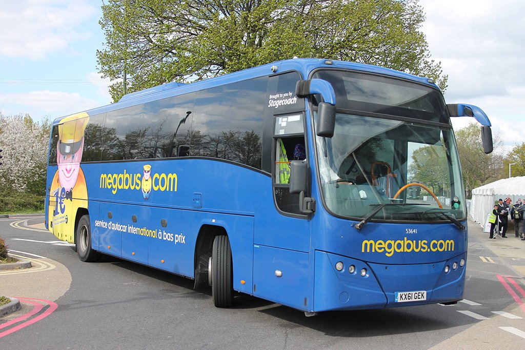 Автобус в Эдинбург