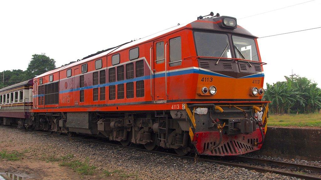 Поезд в Камбоджу