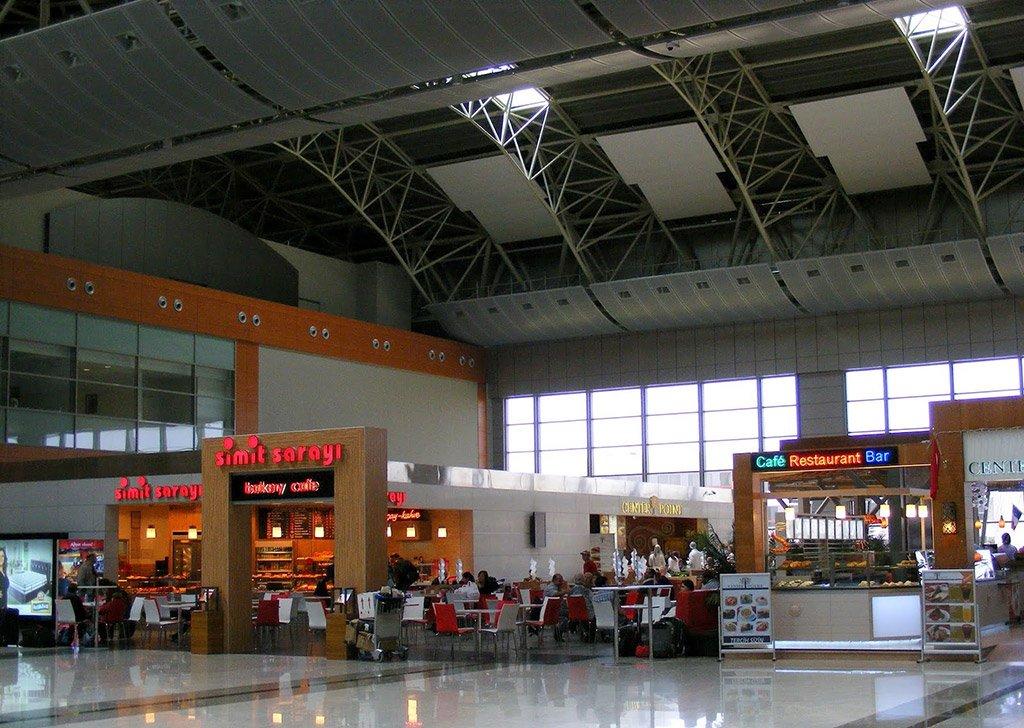 Рестораны аэропорта