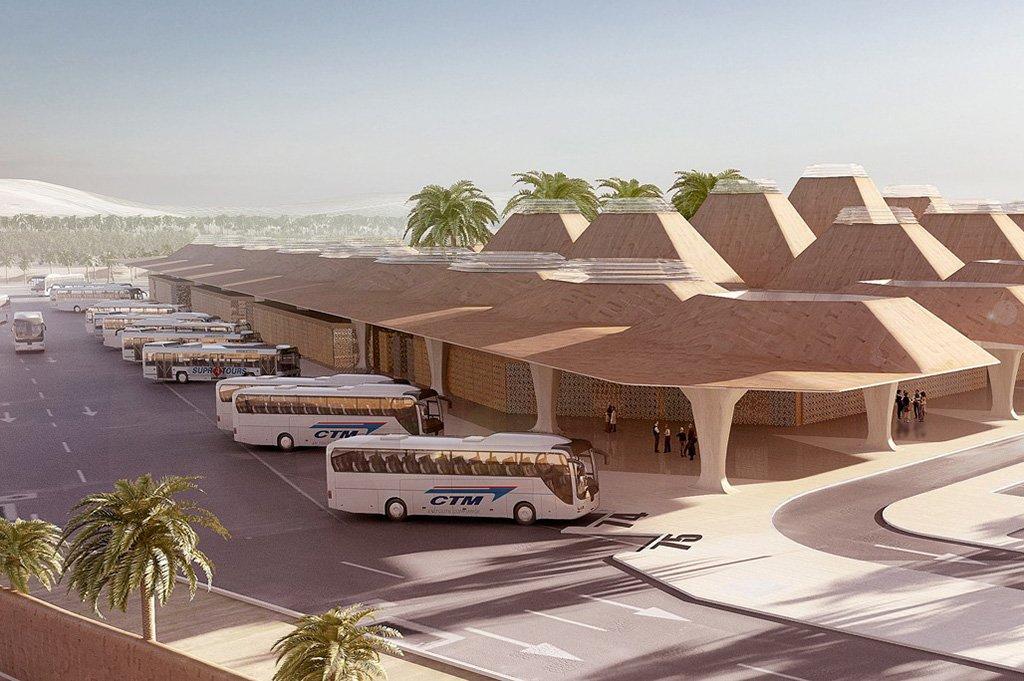 Автобус в Марракеш