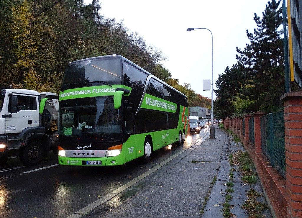 Автобус в пути